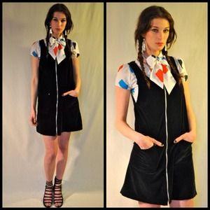 vintage Bill Blass jumper dress