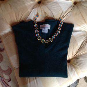 ballantyne Sweaters - Ballantyne cashmere v neck .