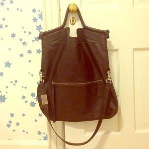 Foley & Corinna mid city tote. Deep brown.