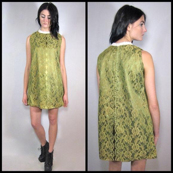 Dresses & Skirts - 🚫SOLD on website🚫60s lace A-line shift dress