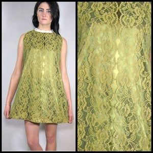 Dresses - 🚫SOLD on website🚫60s lace A-line shift dress