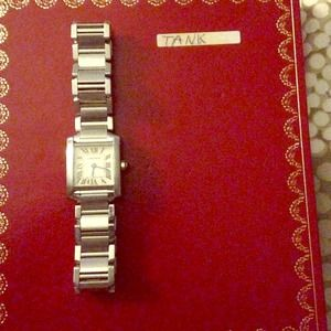 Authentic Cartier Tank Watch - Ladies