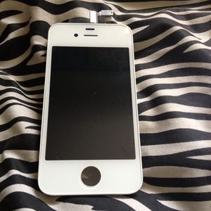 Other - White iPhone 4S replacement glass and tools