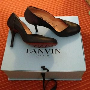 Lanvin Shoes - 🎉Host Pick 🎉 Lanvin Black Pumps
