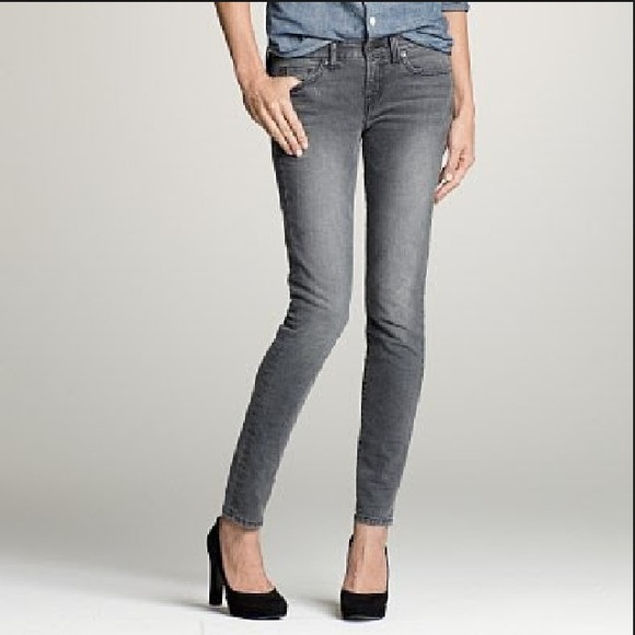 3df22528a09 J. Crew Denim - ❗️price lowered❗️J. Crew gray toothpick jeans