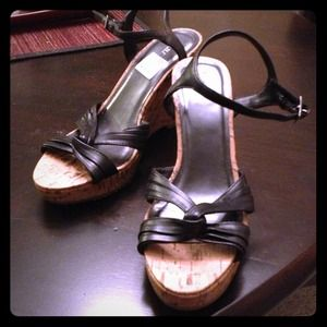 Shoes - SOLD Wedge sandals