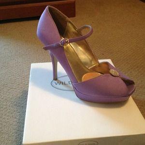 Shoes - Lilac wedding shoe