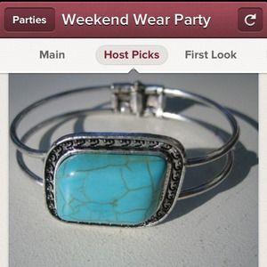 HOST PICKTurquoise bracelet