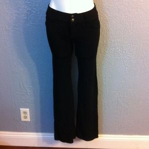 Stretch black pants