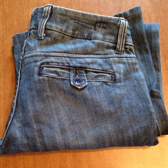 75% off American Eagle Outfitters Denim - AEO Wide leg jeans from ...