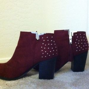 Boots - LuLu's oxblood booties