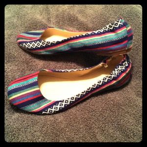 Multi-Colored Ballet Flats