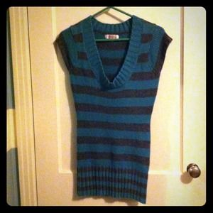 exhilaration Dresses & Skirts - Striped sweater dress!