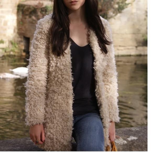 40% off Zara Jackets u0026 Blazers - Zara TRF Collection Fluffy Jacket from Yanu0026#39;s closet on Poshmark