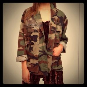 Camo Air Force jacket