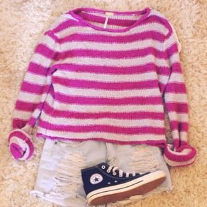 💟TRADED 💟Free People Knit Sweater