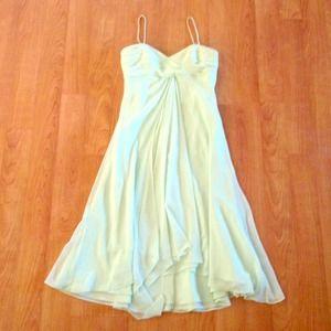 David's bridal, mint bridesmaid dress