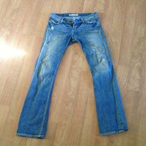 Sabrina boot cut BKE jeans. Size 27 x 33 1/2