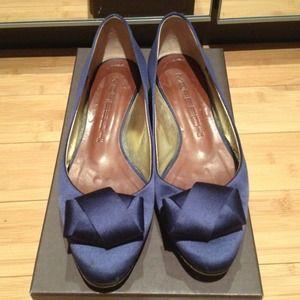 Moreschi Shoes - Moreschi Flat with Folded Bow