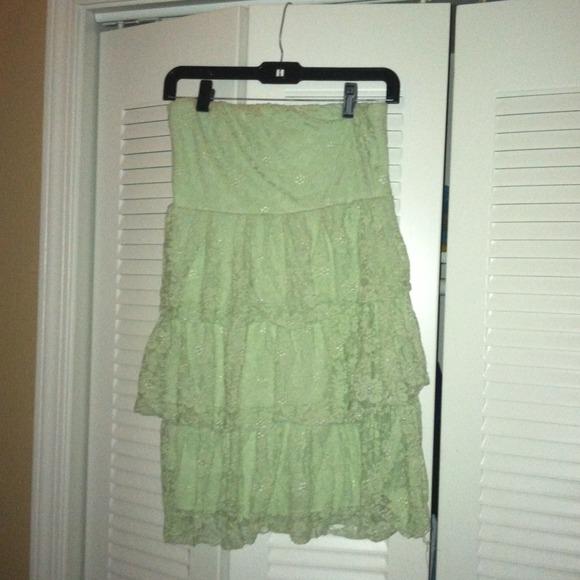 83 Off Dresses Amp Skirts Rue 21 Mint Green Lace Dress