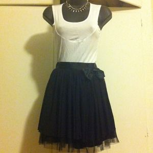 Elegant Soft n Fluffy Bow Skirt