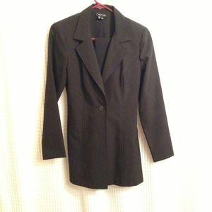 Jackets & Blazers - Long black blazer