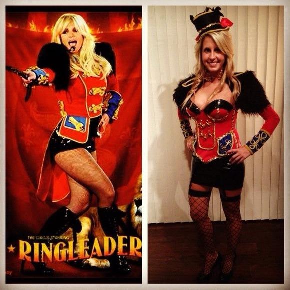 Dresses Halloween Britney Spears Ringmaster Costume Poshmark