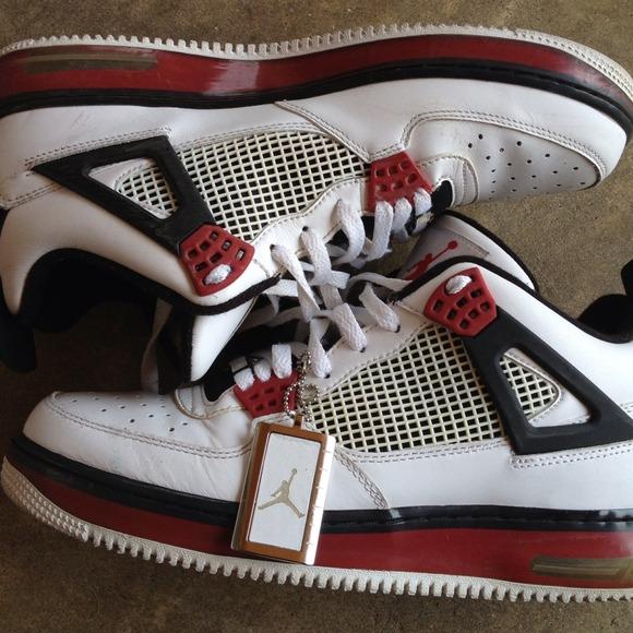 Zapatos Nike Hombres Afj 4 Jordan Air Force 1 1 1 Fusion Poshmark 4b47b8