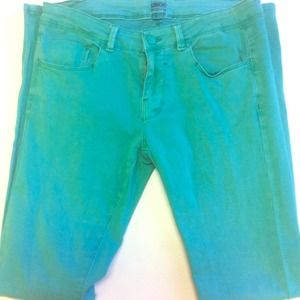 ASOS Pants - ASOS denim in Mint Green