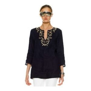 Michael Kors Tops - Michael Kors Beaded Tunic Top
