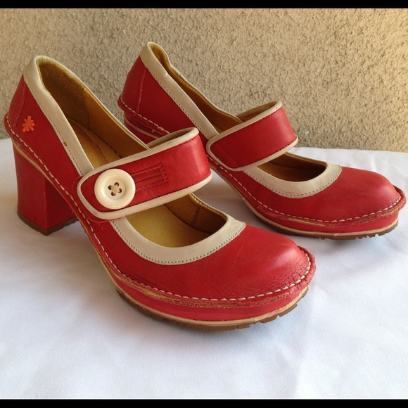 Art Tate Shoes art shoes | tate 700 red heels | poshmark
