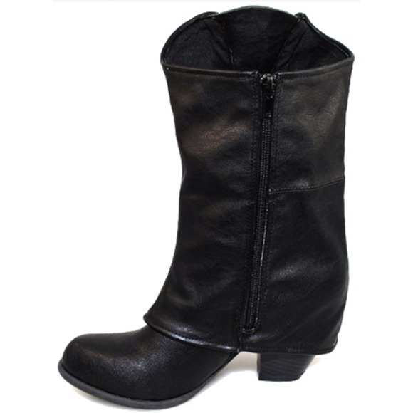 cupid black leather boots from nuttacha s closet on poshmark