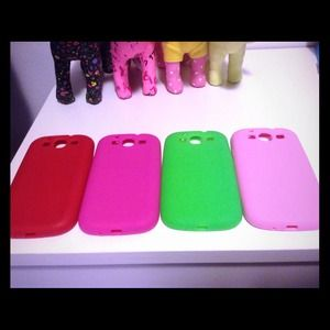 Soft cases  $10 for each, $20 for all 4.