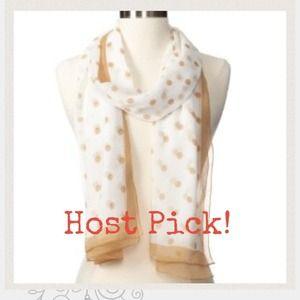 🎉HOST PICK🎉 Jessica Simpson polka dot scarf