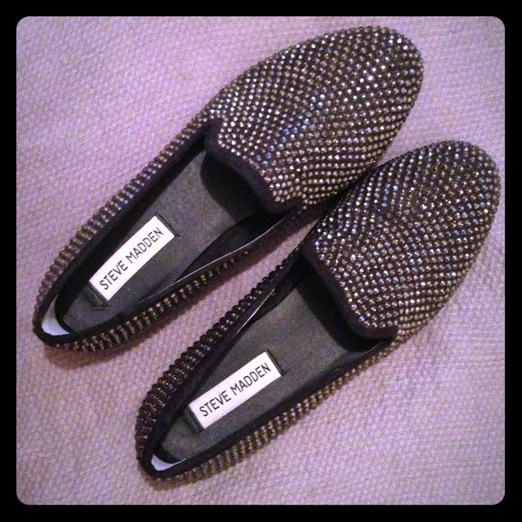 Steve Madden Conncord Black Women s Loafers. M 5230fa74d00cbf2718029ba8