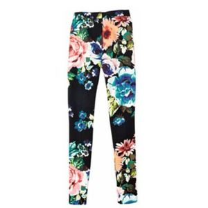 H&M Pants - H&M floral print trousers