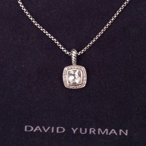 David Yurman 7mm Prasiolite Petite Albion Necklace