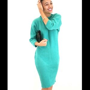 Shamrock Italian Sweater Dress