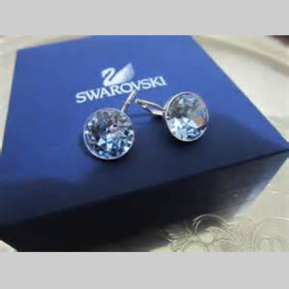 40b962c6d Swarovski Jewelry | Reducedbella Pierced Earrings | Poshmark