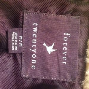 Forever 21 Jackets & Coats - Fake fur forever 21 jacket. Worn once. *REDUCED*