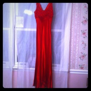 Dresses & Skirts - Full length red gown *REDUCED*