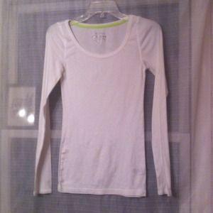 Tops - White long sleeve shirt