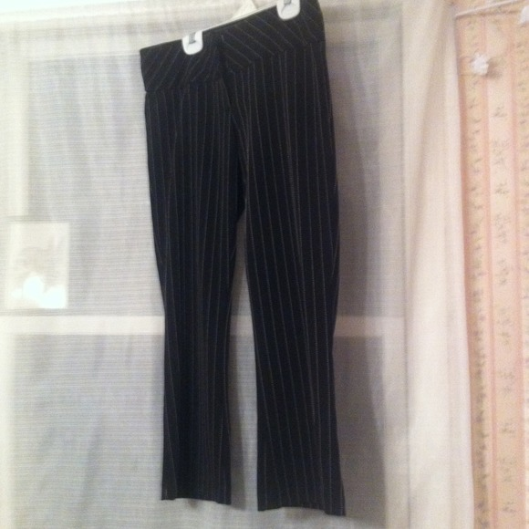 Pants - Black pinstripe dress slacks *REDUCED*
