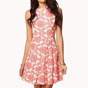 Bundled Beautiful brocade print dress