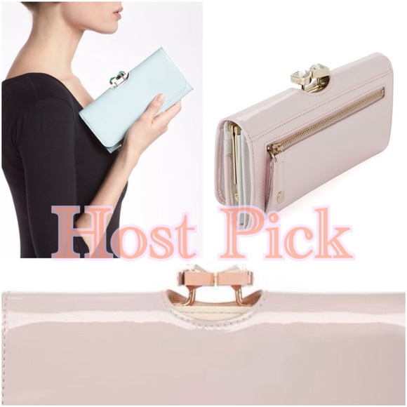 5f1cccf0a975 Ted Baker patent Matinee Wallet