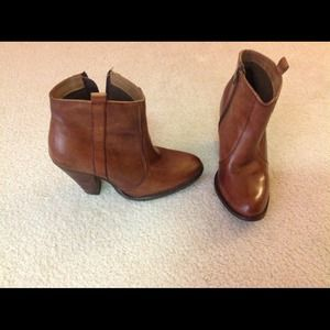 ASOS boots size 7 in brown leather