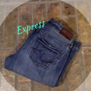 Express Denim - Express Stella fit and flare
