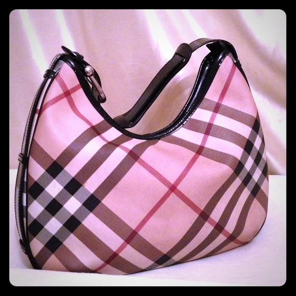 Burberry Bags   Authentic Nova Check Hobo Bag   Poshmark 2d39999ee1