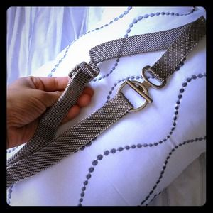 Other - Gorgeous silver belt ❌sold in yard sale