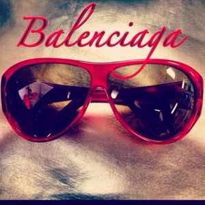 HOST PICK x2Authentic Balenciaga Sunglasses!